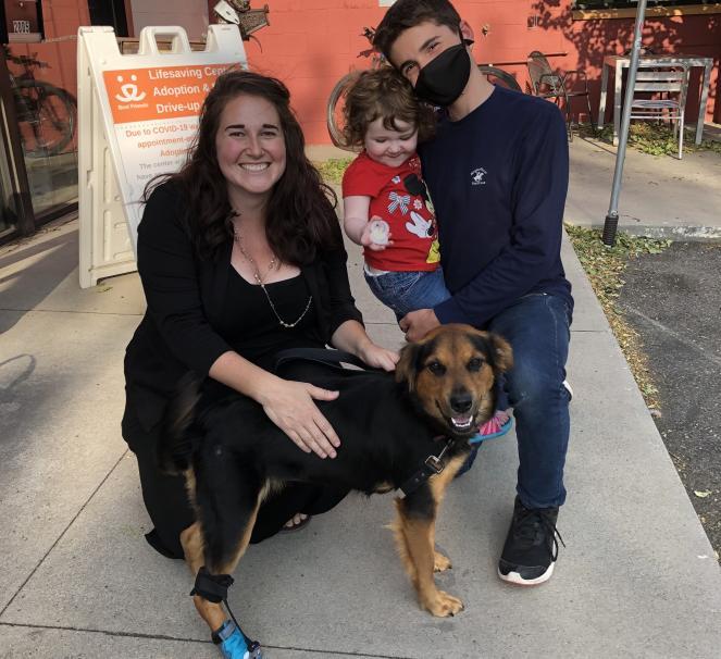 Max's adoption